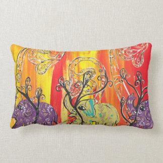 Happy Elephant Parade Pillow