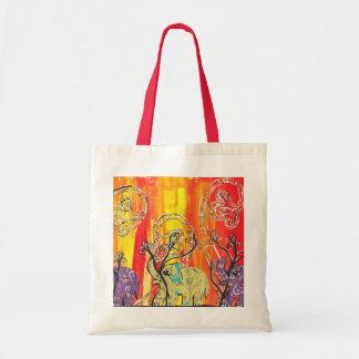 Happy Elephant Parade tote bag