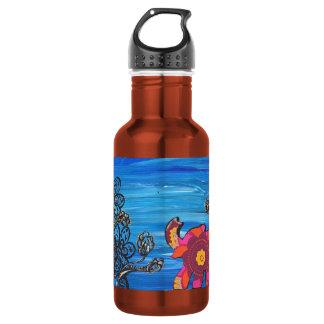 Happy Elephant Stainless Steel Water Bottle