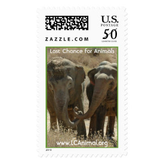 Happy Elephants Postage