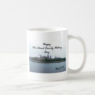 Happy Ellis Island Family History Day April 17 Coffee Mug