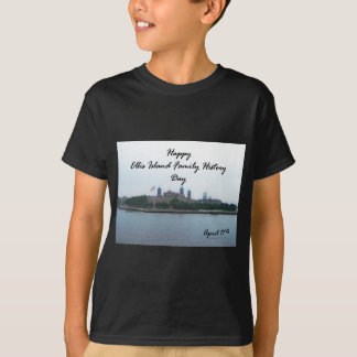 Happy Ellis Island Family History Day April 17 T-Shirt