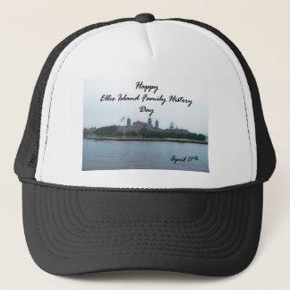 Happy Ellis Island Family History Day April 17 Trucker Hat