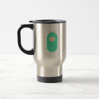 Happy Emoji Llama Travel Mug