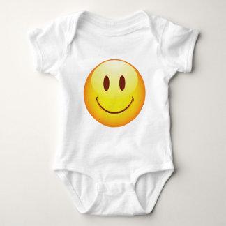 Happy Emoticon Baby Bodysuit