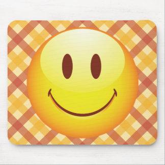 Happy Emoticon Mouse Pad