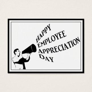 Happy Employee Appreciation Day Business Card