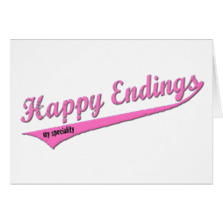Happy Endings My Speciality Card