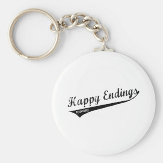 Happy Endings My Speciality Keychain