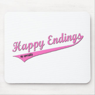 Happy Endings My Speciality Mouse Pad