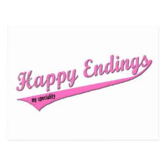 Happy Endings My Speciality Postcard