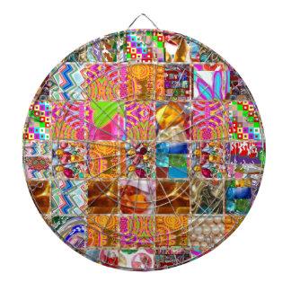 Happy Energy Collage Show: Benefits  very presence Dartboard