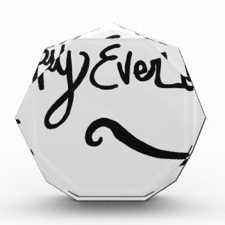 Happy Ever After Acrylic Award