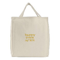 Happy Ever After Bag at Zazzle
