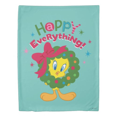 Happy Everything Duvet Cover