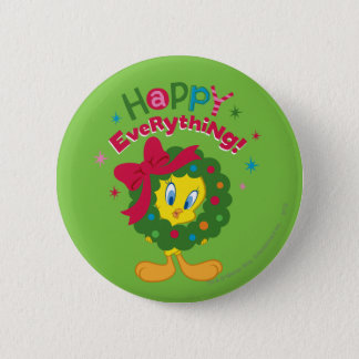 Happy Everything Pinback Button
