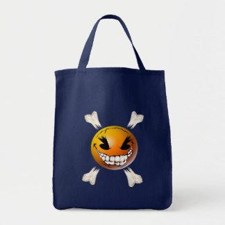 Happy, Evil Smiley Face Bag