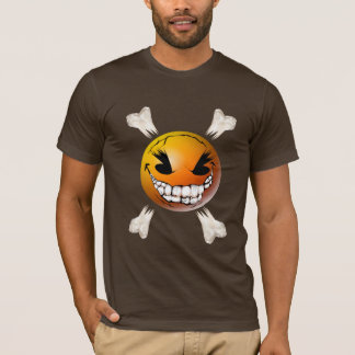 Happy, Evil Smiley Face Shirt