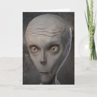 Happy Extraterrestrial Abduction Day Card