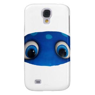 Happy Eyes Blue Cutout Galaxy S4 Cover
