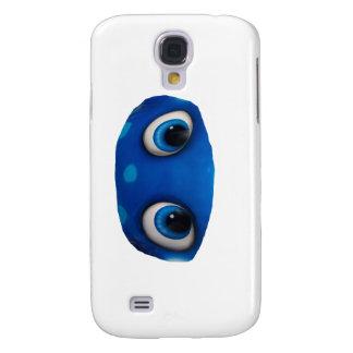 Happy Eyes Blue Cutout Galaxy S4 Covers