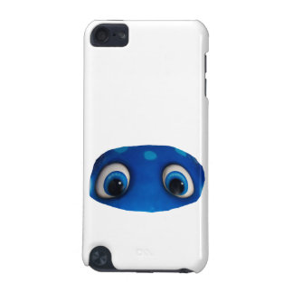 Happy Eyes Blue Cutout iPod Touch 5G Cases