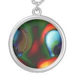 Happy Eyes Solarized Crazy Red Green Custom Jewelry