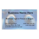 Happy Eyes Stingray Blue Ripple Business Card Templates