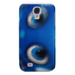 Happy Eyes Stingray Blue Ripple Samsung Galaxy S4 Covers
