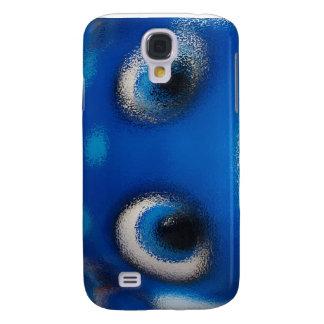 Happy Eyes Stingray Blue Ripple Samsung Galaxy S4 Covers