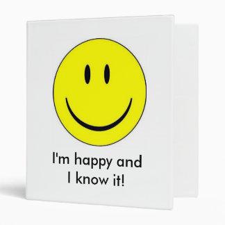Happy Face Binder