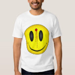 Happy Face Bullet Hole T-shirts