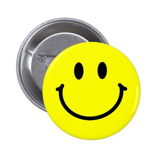 Happy Face Button