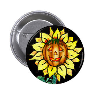 HAPPY FACE by SHARON SHARPE Pinback Buttons