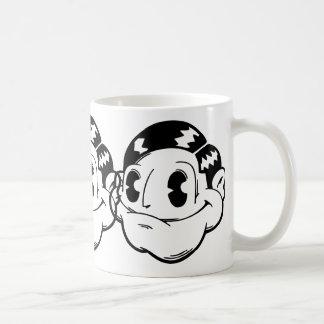 Happy Face Classic White Coffee Mug