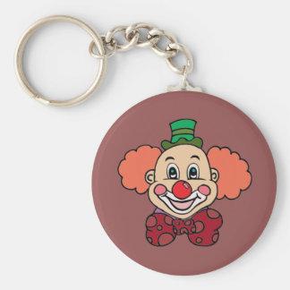 Happy Face Clown Keychain