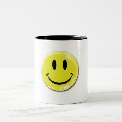 Happy Face Coffee Mug