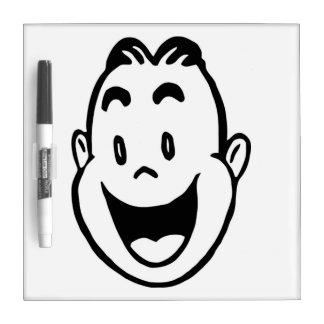 HAPPY FACE Dry-Erase BOARD