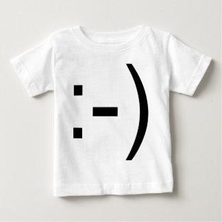 Happy face emoticon! baby T-Shirt