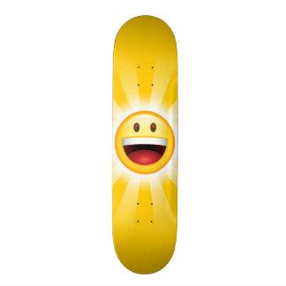Happy Face Emoticon Skateboard Deck
