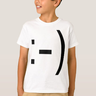 Happy face emoticon! T-Shirt