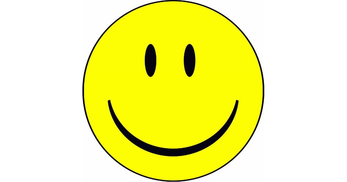 Happy Face Happyface Smiley Cutout Zazzle