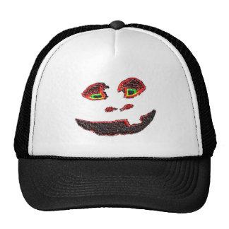 Happy Face Mesh Hats