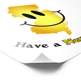 Happy Face - Have a New Jersey Day! Art Photo