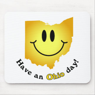 Happy Face - Have an Ohio Day! Mouse Pad