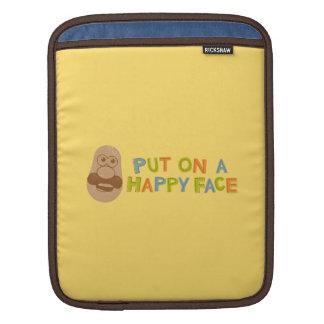 Happy Face iPad Sleeves
