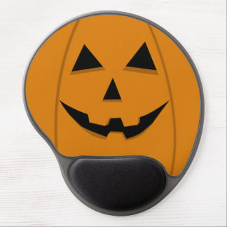 Happy Face Jack-O-Lantern Gel Mouse Pads