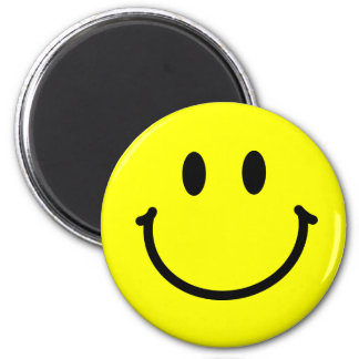 Happy Face Magnet