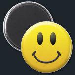 """Happy Face Magnet<br><div class=""""desc"""">Happy Face</div>"""
