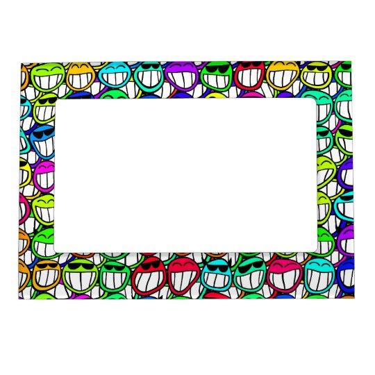 Happy Face Magnet Frame